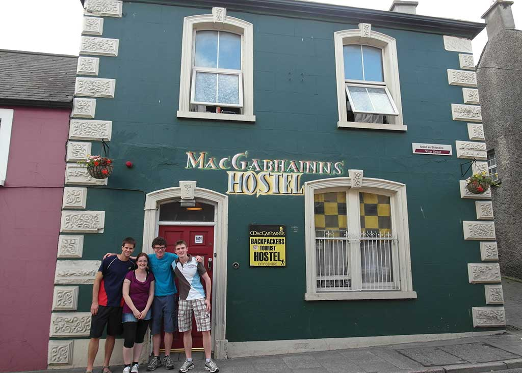 MacGabhainn's Backpackers city centre hostel Kilkenny Ireland