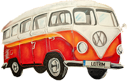 Ray Smith's VW camper van